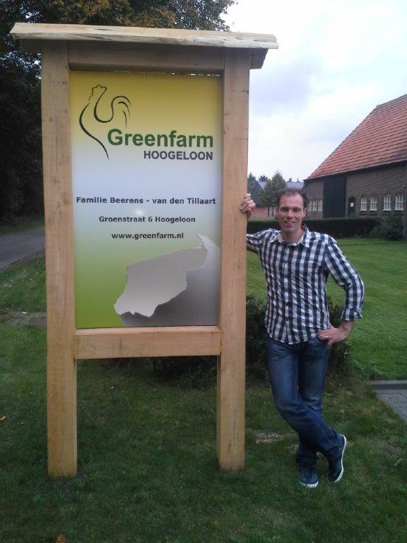 Ammonia level reduction Greenfarm Ben Beerens